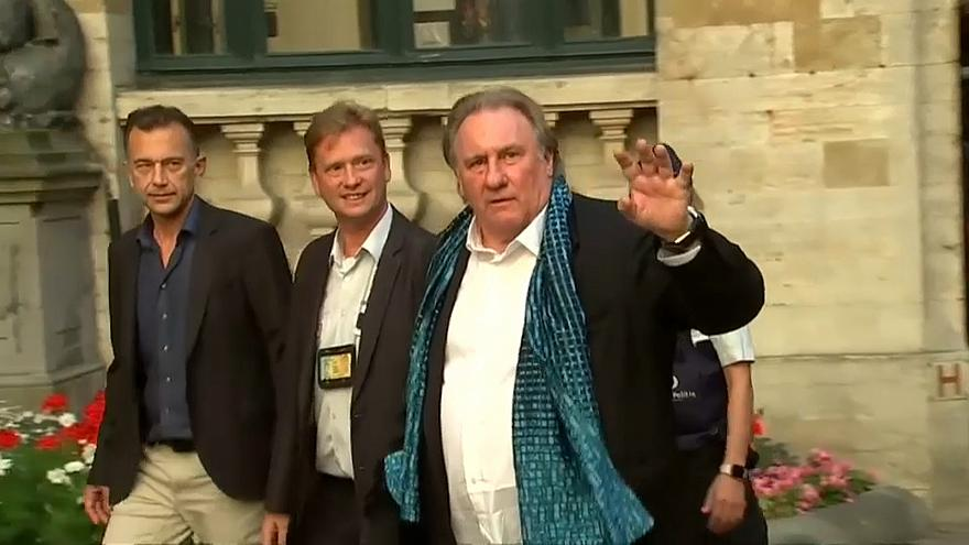 French actor Gerard Depardieu gets Brussels city award