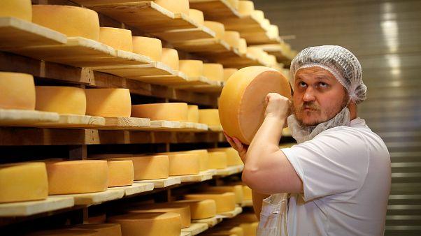 Les Bleus, tout un fromage