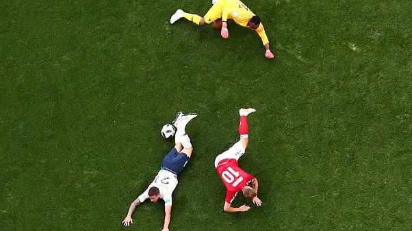 Russia 2018: Danimarca e Francia agli ottavi (senza gol)