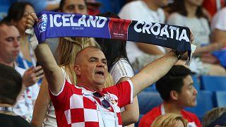 A Croatia fan