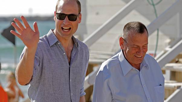 El príncipe Guillermo rinde homenaje en Israel a las víctimas del nazismo