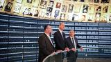 Prince William, visits the Yad Vashem's Hall of Names