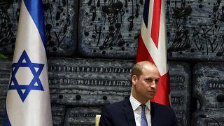 Le Prince William reçu par Netanyahu