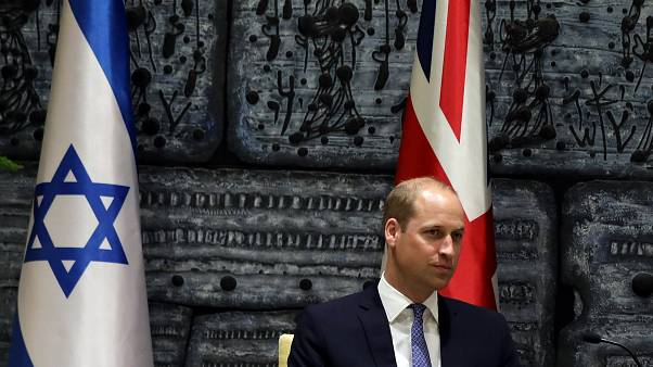 Le Prince William reçu par Netanyahu