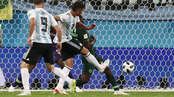 Argentina nos oitavos-de-final