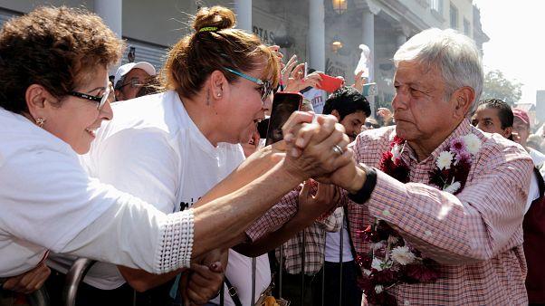 Andres Manuel Lopez Obrador, le candidat de la gauche mexicaine