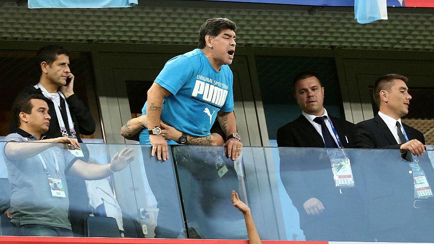 Maradona ricoverato in ospedale