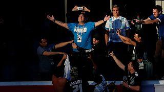 Argentine-Nigeria : le spectacle Maradona