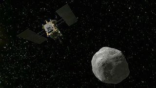 کاوشگر ژاپنی پس از سه سال سفر فضایی به سیارک ریوگو رسید
