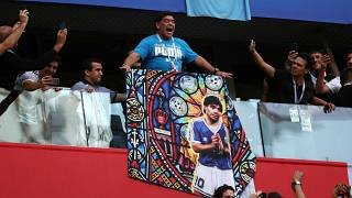 Maç heyecanıyla fenalaşan Maradona hastane iddiasını yalanladı