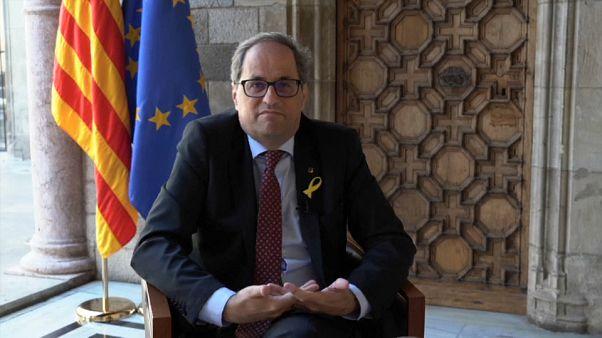 Torra fordert legales Referendum für Katalonien