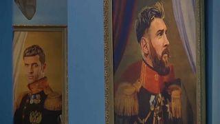 Már az orosz múzeumokban is minden a fociról szól