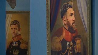 جام جهانی روسیه؛ مقایسه فوتبالیستها با خدایان در قاب نقاشی