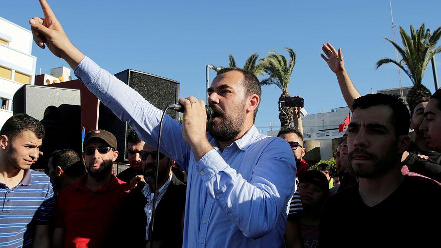 ARCHIVO: El activista marroquí Nasser Zefzafi.