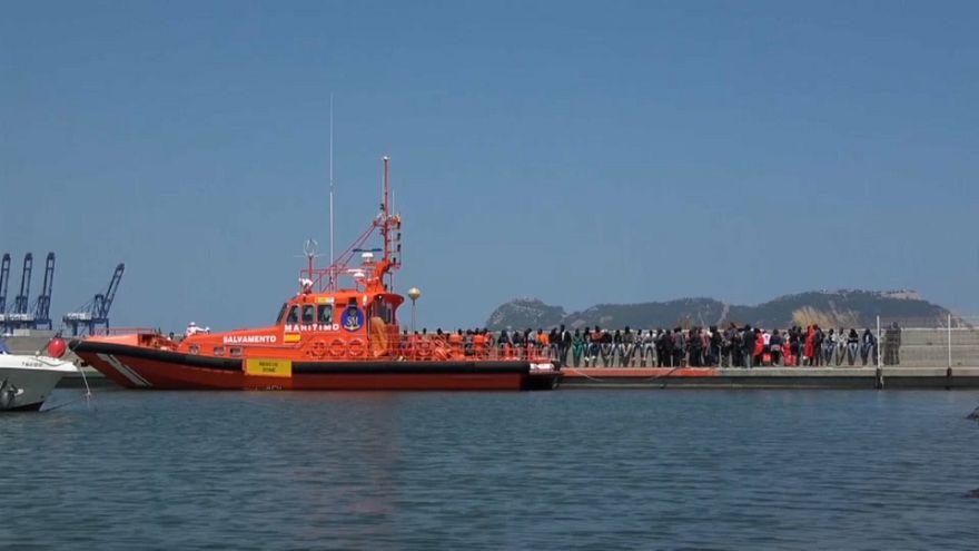 1.800 migranti tratti in salvo negli ultimi giorni nello Stretto di Gibilterra