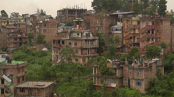 A reconstrução do Nepal