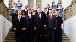 Tσεχία: Ορκίστηκε η νέα κυβέρνηση
