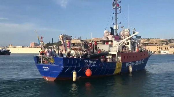 El Lifeline sigue sin poder atracar en Malta