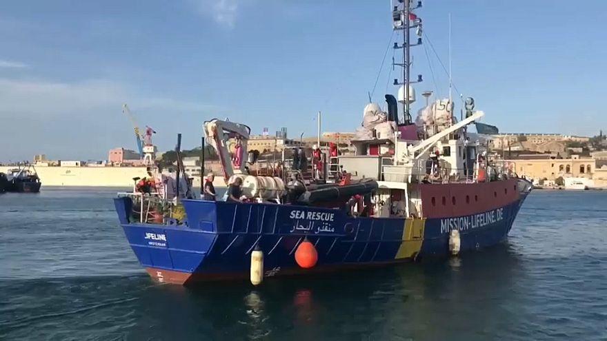 """Malta lässt """"Lifeline"""" anlegen - Rettungsschiff wird festgesetzt"""