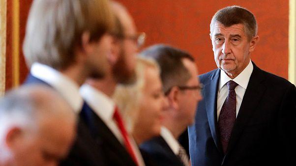 Бабиш представил состав нового кабинета министров