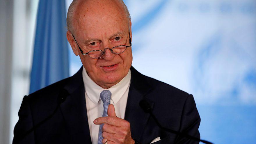 """دي ميستورا أمام مجلس الأمن: """"نشوب معركة شاملة في جنوب غرب سوريا سيزيد التوتر مع إسرائيل"""""""