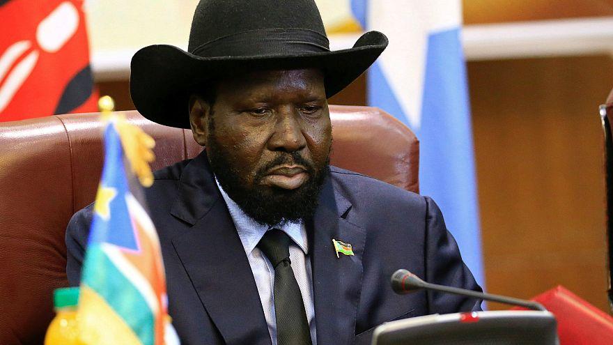رئيس جنوب السودان سلفا كير - المصدر: رويترز.