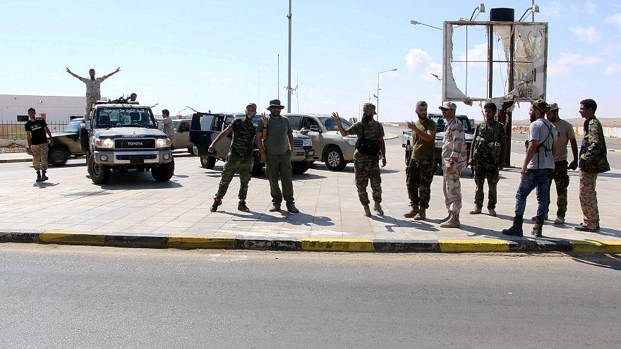 أفراد من الجيش الوطني الليبي - المصدر: رويترز.