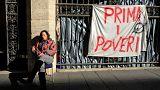 İtalya'da yoksulluk sınırının altında yaşayanların sayısı 5 milyonu aştı