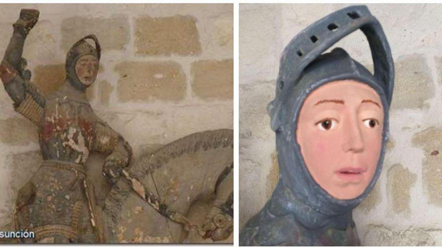 Spagna, dopo l'Ecce Homo un altro caso di restauro andato non benissimo