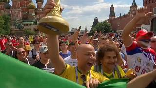 Brazil and Serbia fans optimistic ahead of match