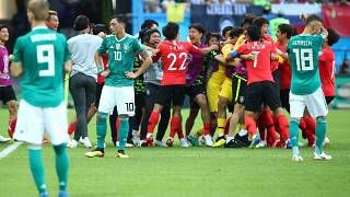 Alemanha eliminada do Mundial 2018