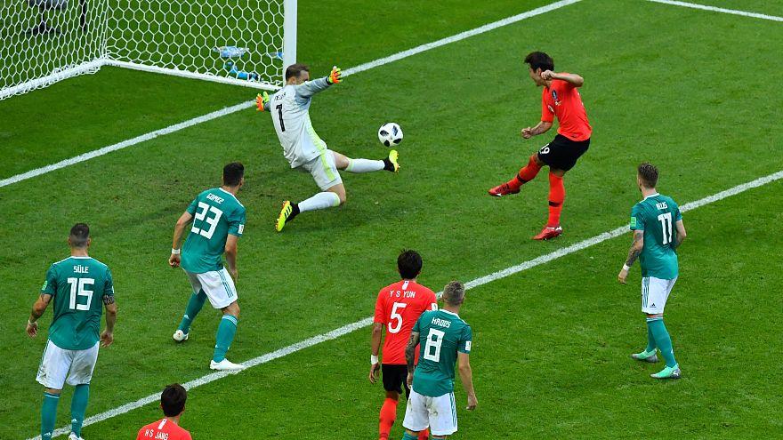 منتخب كوريا الجنوبية يقصي نظيره الألماني من مواصلة مغامرة المونديال إثر التغلب عليه 0/2