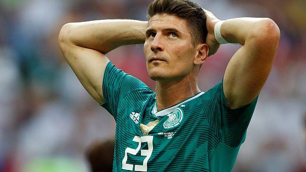 Almanya Güney Kore'ye 2-0 yenilerek 2018 Dünya Kupası'na veda etti