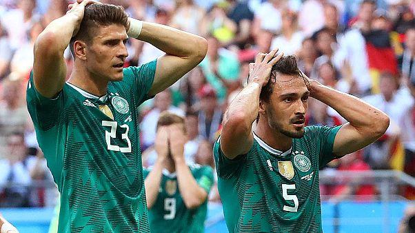 آلمان از جام جهانی حذف شد