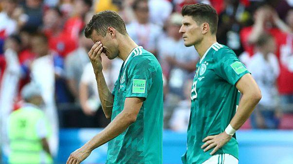 Mondial : l'Allemagne éliminée dès le premier tour