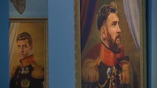St. Petersburg exhibition paints WC players 'Like the Gods'