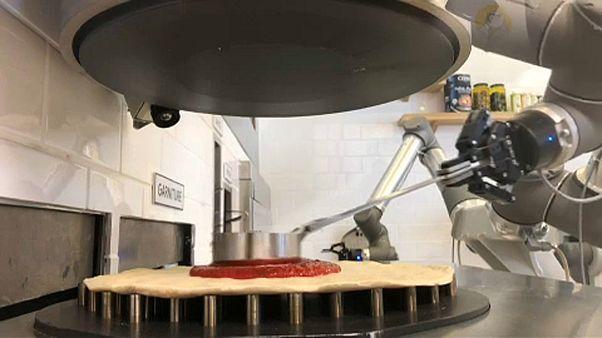 Közeleg a pizzasütő robotok kora?