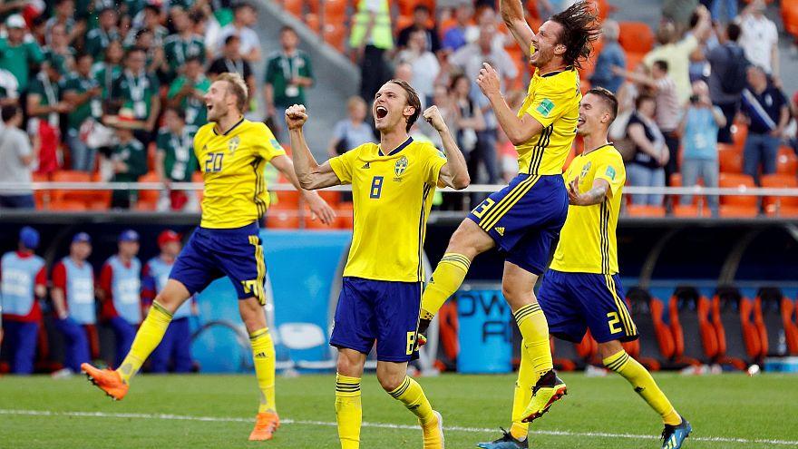 Meksika'yı 3-0 yenen İsveç mucizeyi başardı grup lideri olarak üst tura çıktı