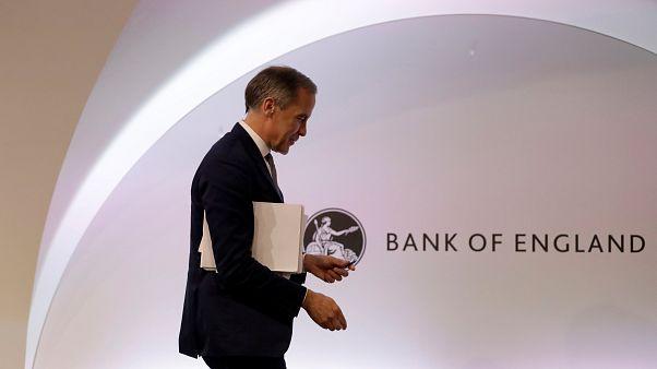 Ο κεντρικός τραπεζίτης της Βρετανίας Μαρκ Κάρνεϊ