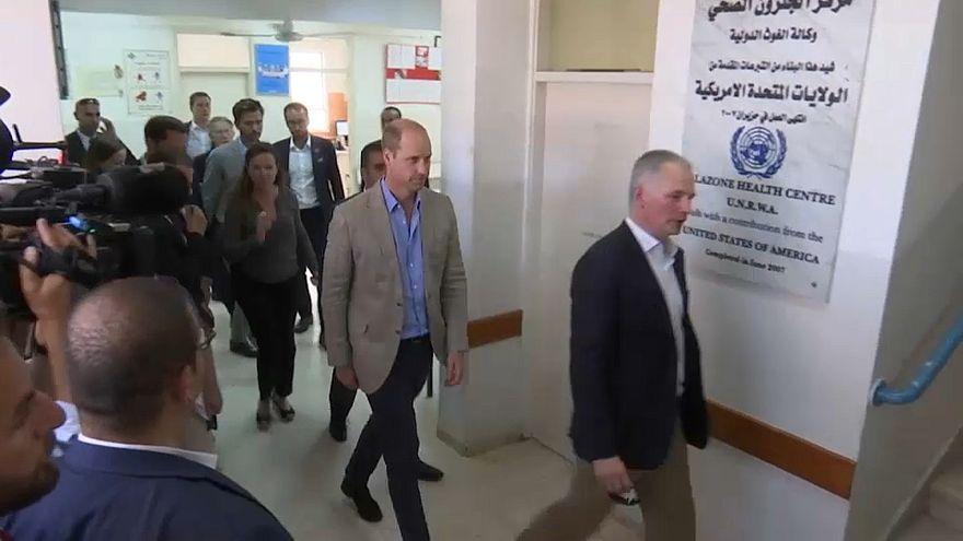 الأمير وليام يزور الضفة الغربية ويلتقي الرئيس عباس