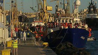 Lifeline, Malta:  iniziate le procedure di sbarco