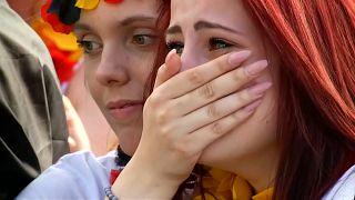 Tränen und Entsetzen nach deutschem WM-Aus