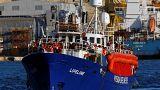 Navio humanitário Lifeline atracou em Malta com 233 migrantes a bordo