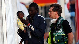 پناهجویان کشتی لایفلاین پس از یک هفته سرگردانی به جزیره مالت رسیدند