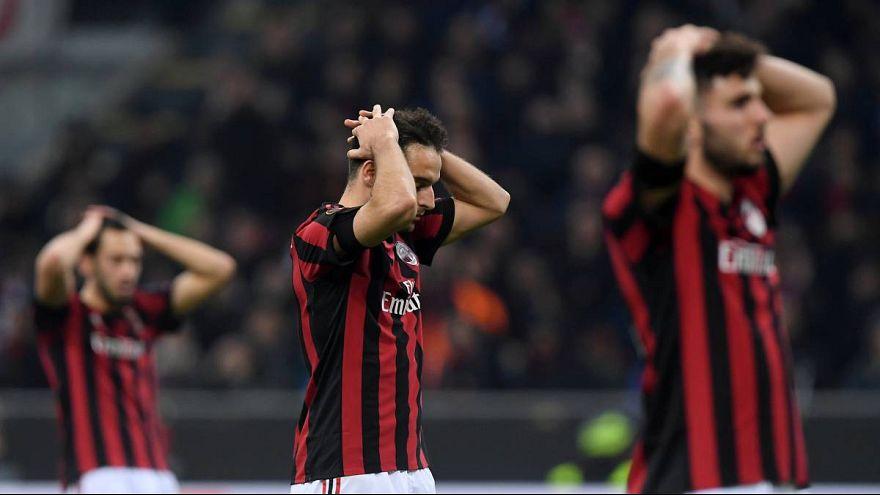 AC Milan katılmaya hak kazandığı halde UEFA Avrupa Ligi'nde oynayamayacak