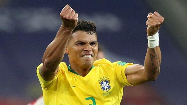 برزیل با غلبه بر صربستان حریف مکزیک در مرحله یک هشتم نهایی شد