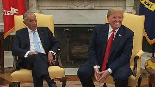 """""""Portugal não é os Estados Unidos"""" diz Marcelo a Trump"""