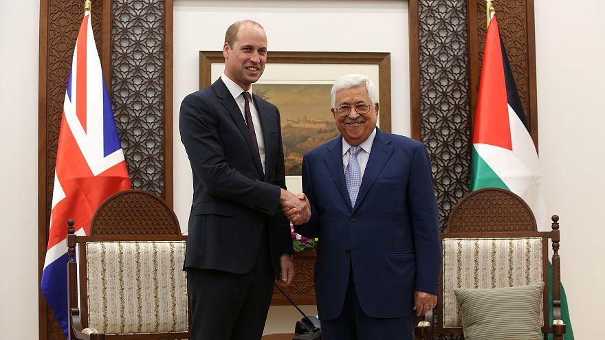 İngiliz kraliyet ailesinden Filistin'e ilk ziyaret