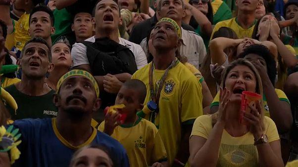 مشجعون برازيليون في ريو دي جينيرو