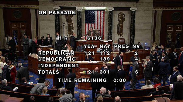 Revés en el Congreso a la ley migratoria de Trump